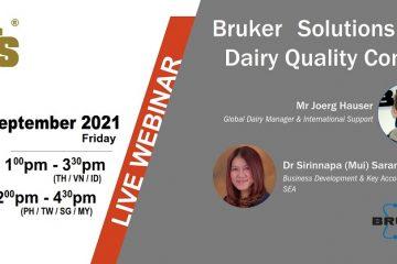 Những giải pháp của hãng Bruker cho quá trình kiểm soát chất lượng trong sữa